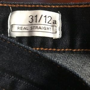 GAP Jeans - GAP Real Straight Jeans